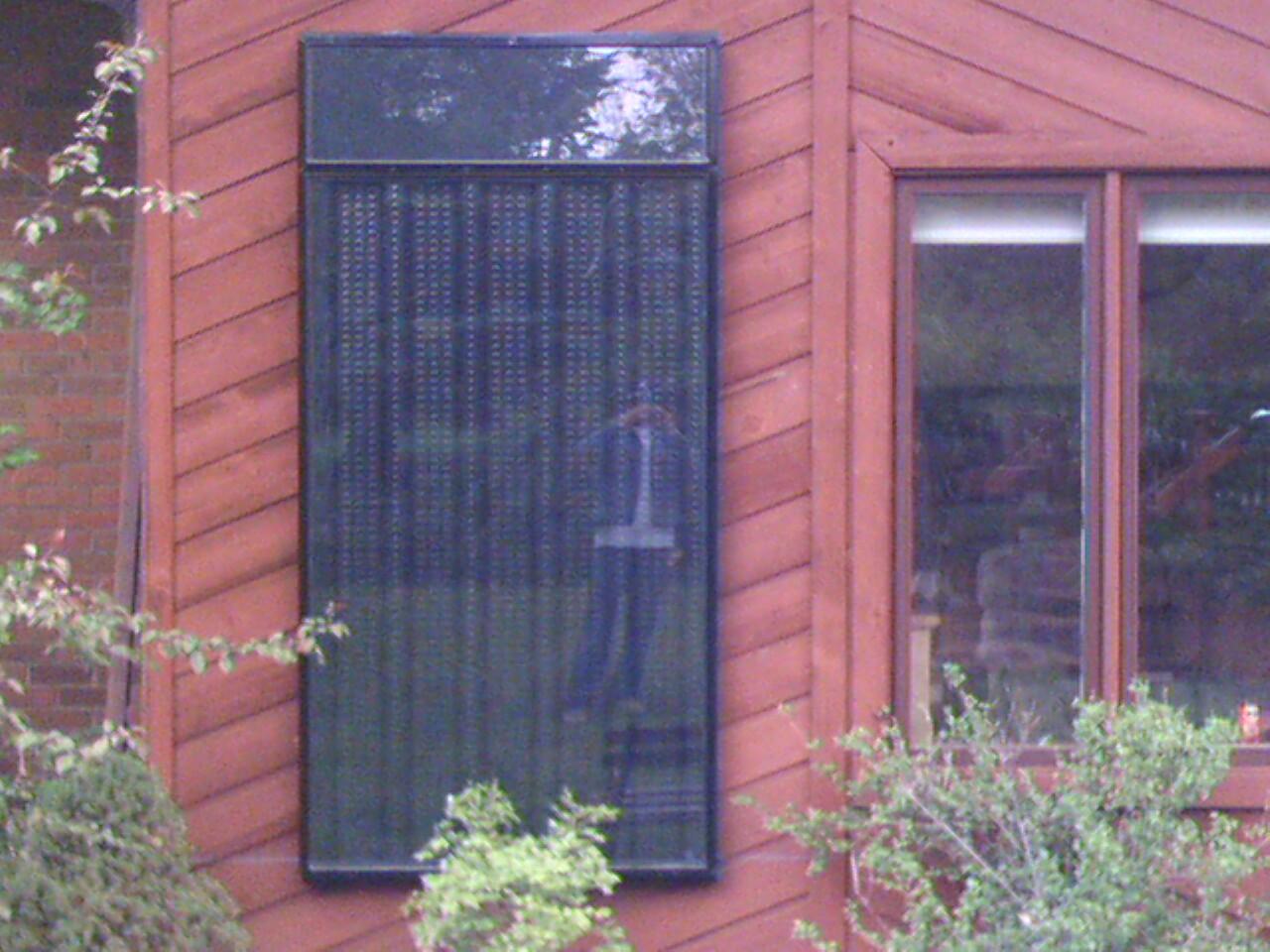 Thermal Solar warm air Unit